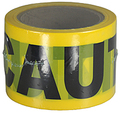 "3"" X 300' Barricade Tape 3 Mil Caution - Yellow"