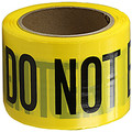 "3"" X 1000' Barricade Tape 3 Mil Do Not Enter Yellow"