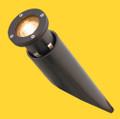 Aluminum Well Light, Black with L-BAB-C20 and PVC Sleeve