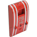 Addressable Analog Fire Alarm Station - Single Action Single Stage - 20 Volt Maximum - Normally Open Dry Contact Initiating Device T hat Requires One Action By The User To Initiate An Alarm