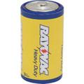 "Rayovac® D Carbon Zinc Battery ""Pkg Of 6"""