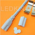 INTEGRATED LED TUBE AND ITS FIXTURE. 120V 20W 6000K