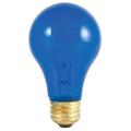 25W MB A19 BLUE TRANSP 120V