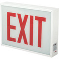 Chicago Approved LED Exit Sign - Red LED - 120/277 Volt