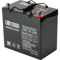 """12 Volt, 55 Amp Hour Replacement Battery - 9-1/8H x 5-7/16W x 9-1/16""""D - Group 22NF Battery - For Use In Medical Mobility Scooters"""