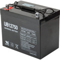 12 Volt, 75 Amp Hour Replacement Battery -