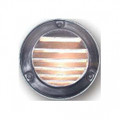 """4"""" SURFACE LOUVER STEP/WALL LIGHT SS"""