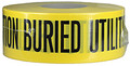 "3"" X 1000' Underground Tape 4 Mil Utilities - Yellow"