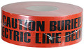 "3"" X 1000' Underground Tape 4 Mil Electric - Red"