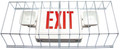 WIRE GUARD FOR EXIT OR EMERGENCY LIGHT