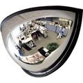 """180° Acrylic Half Dome Convex Mirror 18"""""""