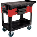 "34 x 19 x 38"" Rubbermaid Heavy Duty Utility Trade Cart"
