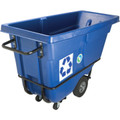 Rubbermaid Standard Duty Recycling Tilt Truck