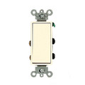 LEVITON DECORATOR 4-WAY SWITCH LIGHT ALMOND 5604-2T