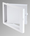 Cendrex Fire Rated Insulated Upward Opening Steel Access Panel 24x24 White