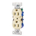 COOPER 15A GROUNDING STANDARD DUPLEX RECEPTACLE IVORY 270V