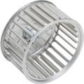 """3-3/4"""" CCW Rotation Steel Exhaust Fan Blower Wheel"""