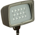 LED FLOODLIGHT, 26.5w 5000K, 2040 LUMENS, 120-277V, WIDE SPREAD, DARK BRONZE