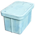"24 X 36 X 18 PLASTIC UNDERGROUND ELECT BOX, WITH PLASTIC COVER ""ELECTRICAL"""