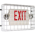 Large Exit Sign Damage Stopper Steel Wire Guard