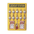North by Honeywell Polystyrene Unfilled Complete Lockout Station