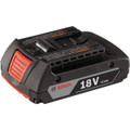 Bosch 18 Volt Lithium Ion 2.0 Amp Hour Battery, 2 Pack