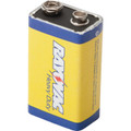 Rayovac 9 Volt Carbon Zinc Battery 12 Per Package