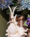 "AS1213 Bunny Friend 9""x4.5""x12"" Set of 2"