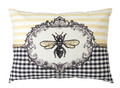 "Bee Rectangle Pillow 17.5""x13"""