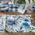 Garden Sketchbook Placemant and Napkins S/2