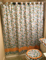 Field of Daises Collection Bath Curtain