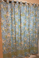 Gentle Breeze Collection -Light Blue Bath Curtain