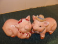 Barn Yard Kissing Pigs Salt and Pepper Shakers