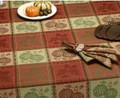 Trail Tracks Jaquard Tablecloth
