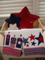 Set of 2 4th of July Kitchen Towels