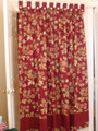 Classy Garden Collection Bath Curtain
