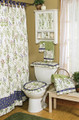 Nature's Garden Collection-Bath Curtain