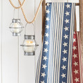 "Stars and Stripe Table Runner 72"" Blue"
