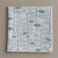 Martha's Garden Placemat Mist-Set of 2 napkin
