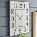 "19"" Distrressed Clock"