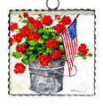 Gallery Bucket of Geraniums