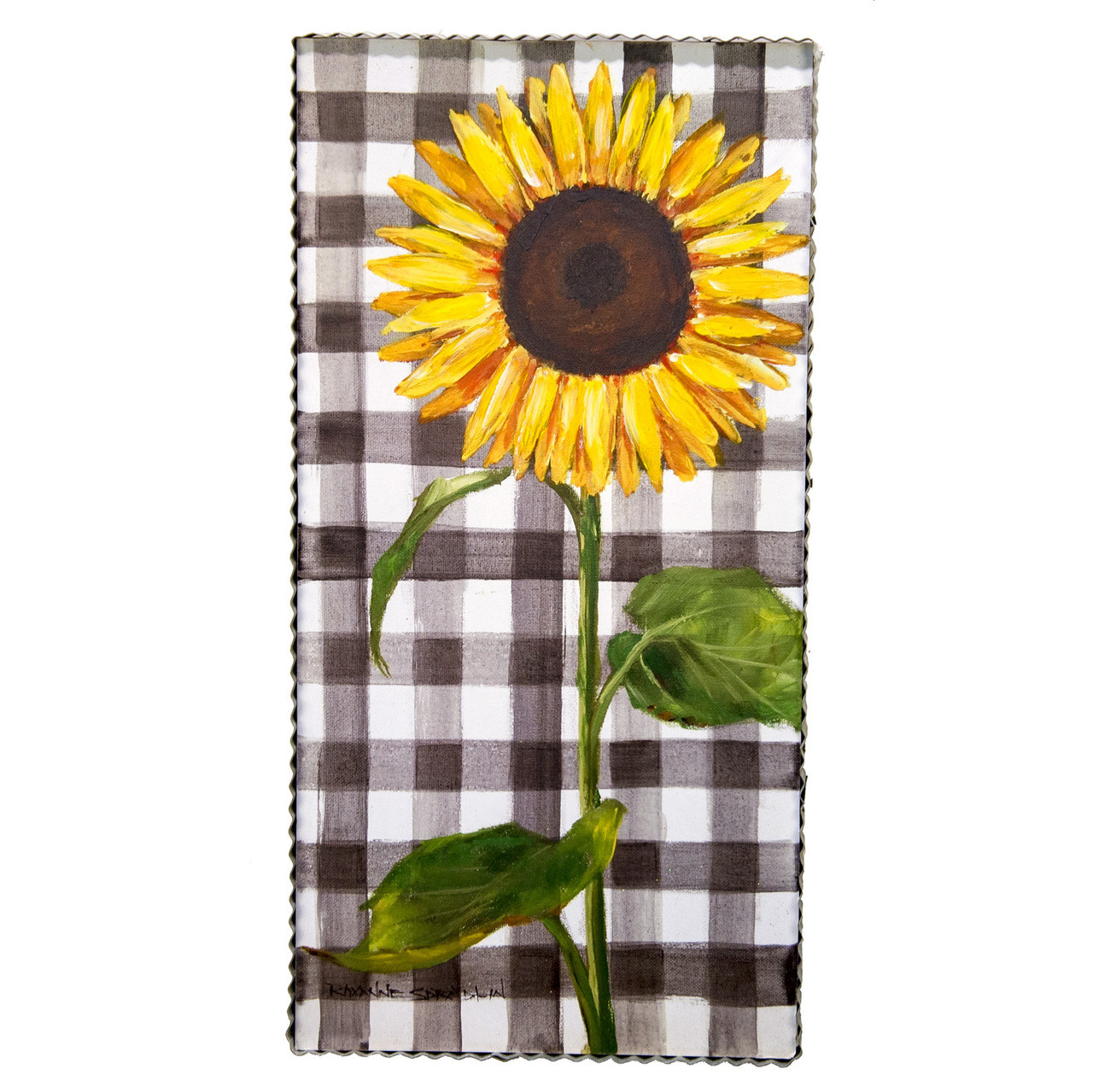 Gallery Gingham Sunflower Home Decor Accents For Your Style