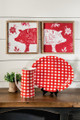 Red and White gingham products
