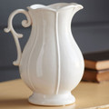 White Fancy Pitcher