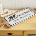 Farm Freh Cow Cutting Board