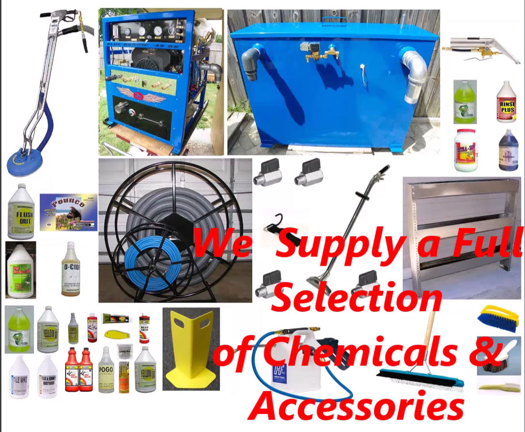 Truck Mount Carpet Cleaning Machines and Accessories | Truck