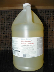 Blue Baron's Fire Power Grout, Tub & Tile Cleaner