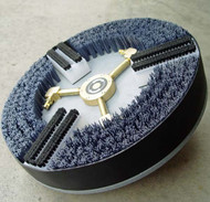 Tile & Grout Brush Head with Vacuum Ring