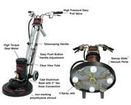 Rotovac 360 XL Rotary Carpet Cleaning Machine (With 4 shoe carpet head)