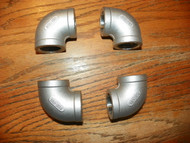 Stainless 1 inch 90 elbow